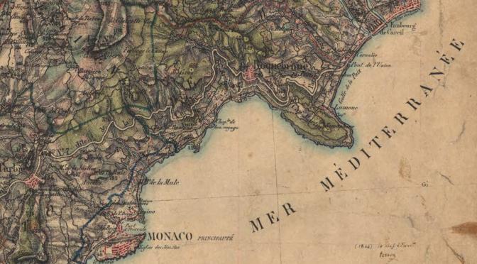 5. Dates et itinéraires des carnets de Turner à travers le sud-est de la France